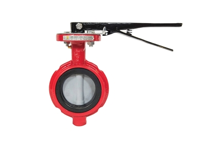 "4"" Butterfly Valve with Nickel Plated Disc"