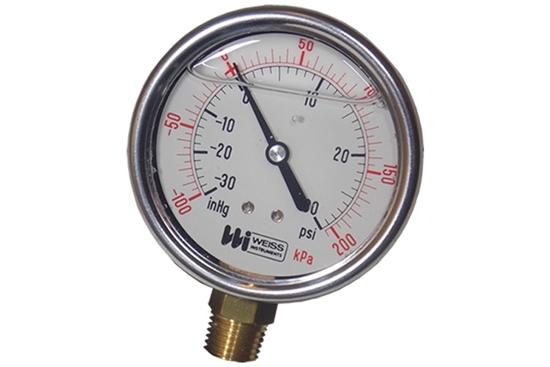 "4-1/2"" Dry Vacuum Pressure Gauge"