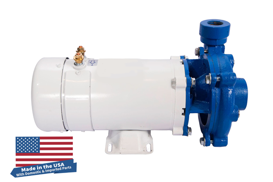 Moro DC - Cast Iron Washdown Pump with SS Impeller