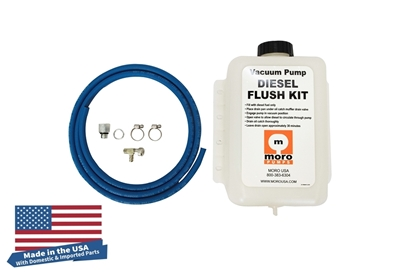 Vacuum Pump Diesel Flush Kit