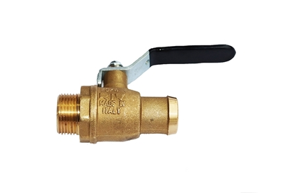 "Picture of 3/4"" Drain Valve Petcock for RIV Secondary Traps"