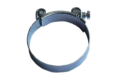 "Picture of 4"" Heavy Duty T-Bolt Hose Clamp"