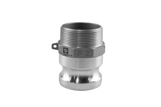 """Picture of 2"""" F Male Threaded to Male Quick Couple Adapter"""