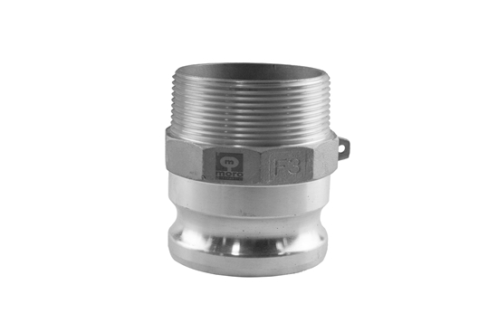 "Picture of 3"" F Male Threaded to Male Quick Couple Adapter"